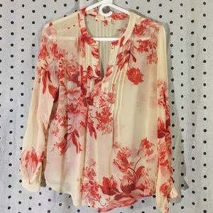 Tops - Stitch fix sought after sheer top!!